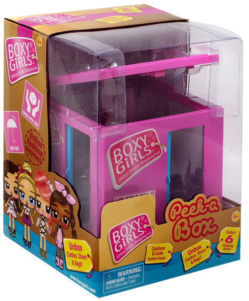 Boxy Girls Peek-A-Box Exclusive Mini Doll [Pink]