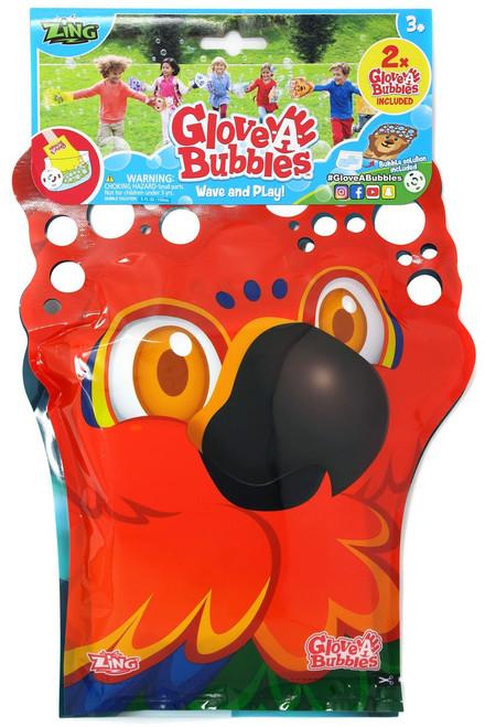 Glove A Bubble Parrot & Penguin 2-Pack