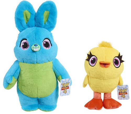 Toy Story 4 Ducky & Bunny Exclusive Jumbo Two Piece Plush Set