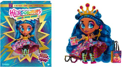 Hairdorables Comic Book Queen Exclusive Deluxe Doll Set