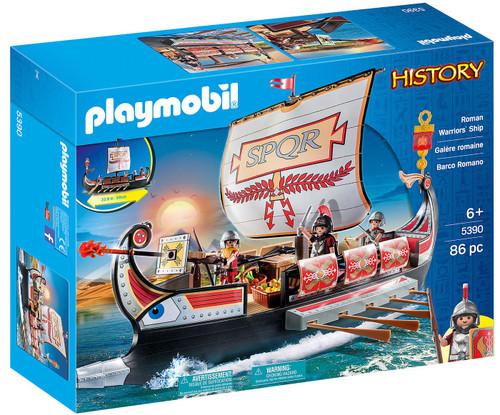 Playmobil History Roman Warriors' Ship Set #5390