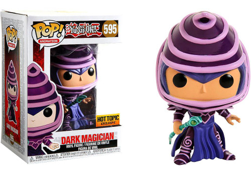 Funko YuGiOh POP! Games Dark Magician Exclusive Vinyl Figure #595