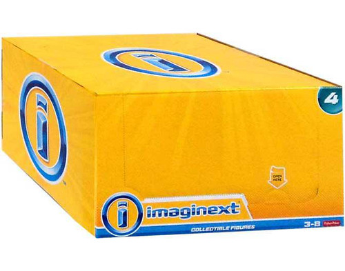Fisher Price Imaginext Series 4 Collectible Figure Mystery Box [16 Packs]