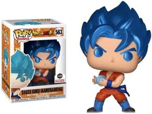 Funko Dragon Ball Z POP! Animation SSGSS Goku Exclusive Vinyl Figure [Kamehameha]