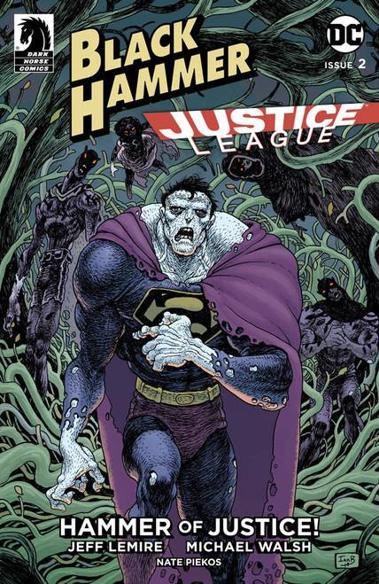 Dark Horse / DC Comics Black Hammer Justice League #2 of 5 Comic Book [Ian Bertram Variant Cover C]