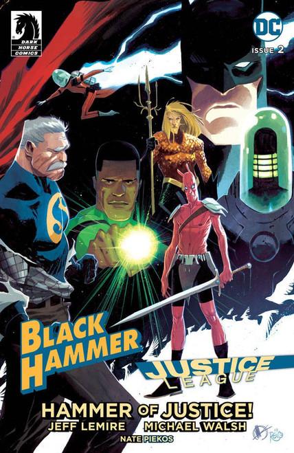 Dark Horse / DC Comics Black Hammer Justice League #2 of 5 Comic Book [Julian Totino Tedesco Variant Cover D]