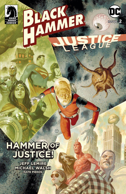 Dark Horse / DC Comics Black Hammer Justice League #2 of 5 Comic Book [Matteo Scalera Variant Cover E]