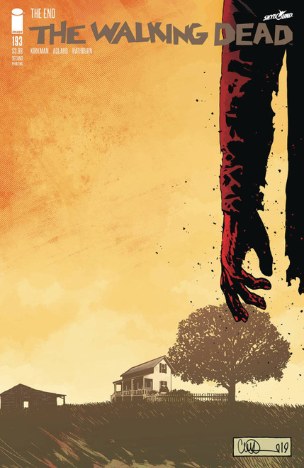 Image Comics The Walking Dead #193 Comic Book [Second Printing]