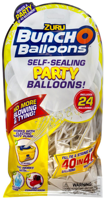 Bunch O Balloons 24-Pack [White]