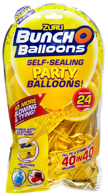 Bunch O Balloons 24-Pack [Yellow]