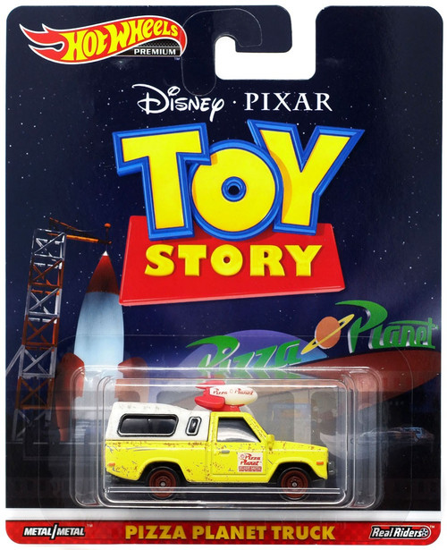 Disney / Pixar Hot Wheels Premium Pizza Planet Truck Die Cast Car [Toy Story]