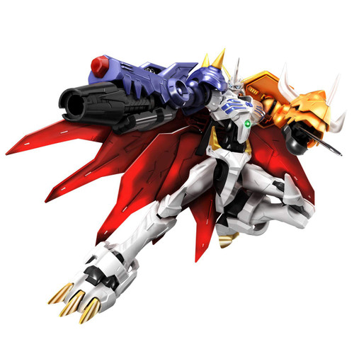 Digimon Figure-Rise Standard Omegamon Action Figure [Amplified]