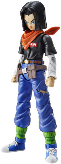 Dragon Ball Figure-Rise Standard Android 17 7-Inch Model Kit Figure [New Package Version]