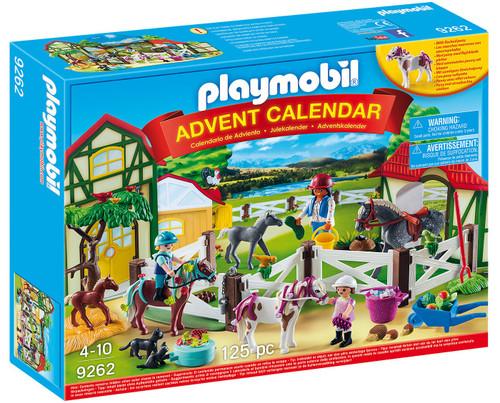Playmobil Advent Calendar Horse Farm Set #9262
