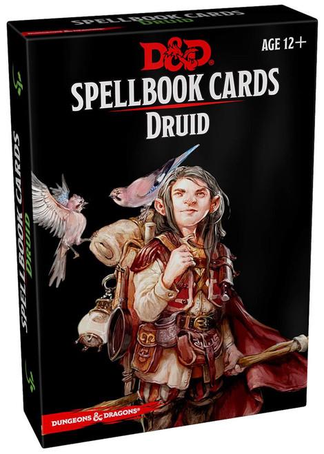 Dungeons & Dragons Druid Spellbook Cards