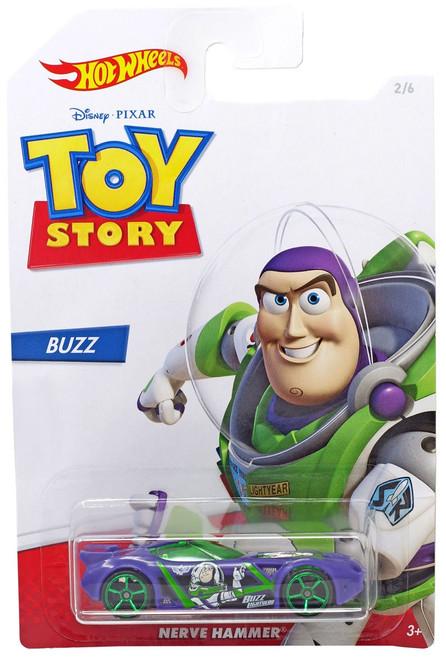 Toy Story Hot Wheels Nerve Hammer Diecast Car #2/6 [Buzz]