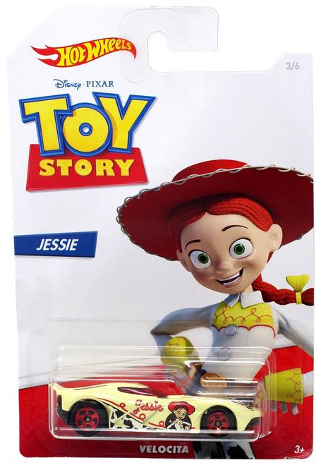 Toy Story Hot Wheels Velocita Diecast Car #3/6 [Jessie]