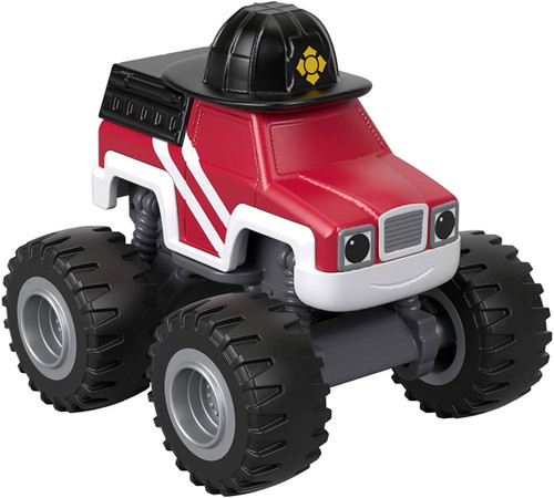 Fisher Price Blaze & the Monster Machines Fire Rescue Firefighter Diecast Car [Version 2]