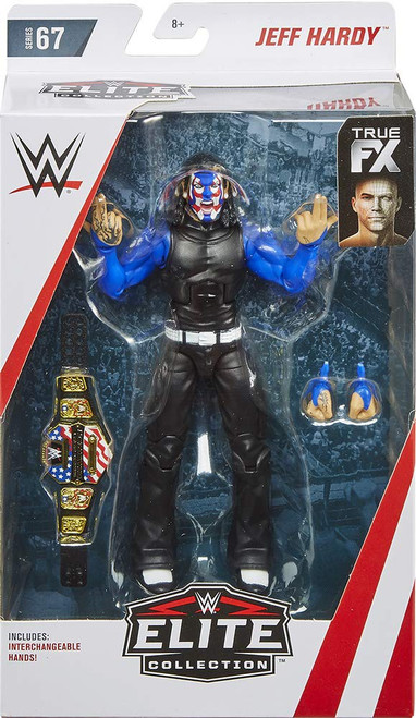 WWE Wrestling Elite Collection Series 67 Jeff Hardy Action Figure [Chase Blue & Red Facepaint]