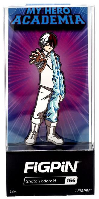 My Hero Academia FiGPiN Shoto Todoroki 3-Inch #166