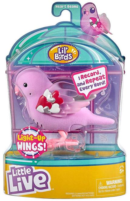 Little Live Pets Series 9 Lil' Birds Heart Beams Figure