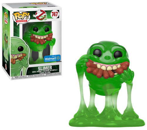 Funko Ghostbusters POP! Movies Slimer with Hot Dogs Exclusive Vinyl Figure #747 [Translucent]