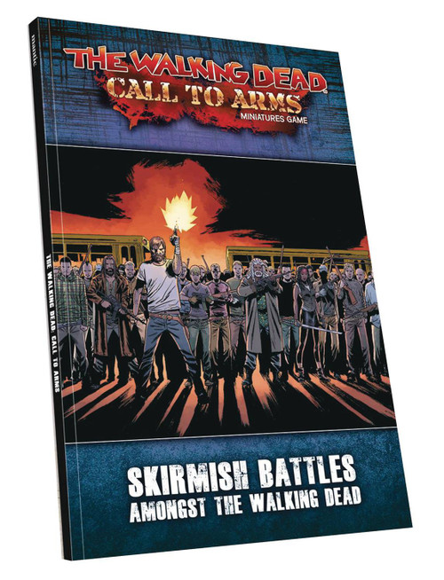 The Walking Dead Walking Dead Call to Arms Miniature Game Core Rulebook