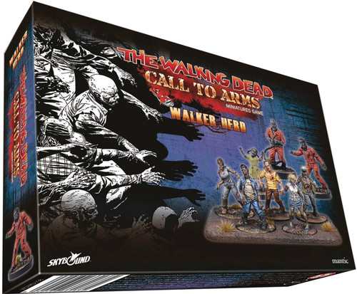 The Walking Dead Walking Dead Call to Arms Miniature Game Walker Herd Booster Pack