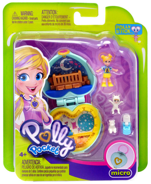 Polly Pocket Micro Teeny Tot Nursery Playset
