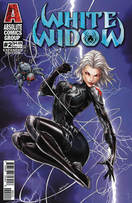 Absolute Comics Group White Widow #2 Comic Book [2nd Print Cover B Foil Logo]
