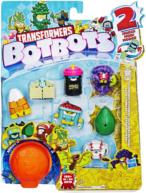 Transformers BotBots Series 3 Fresh Squeezes Mini Figure 8-Pack [RANDOM Figures]
