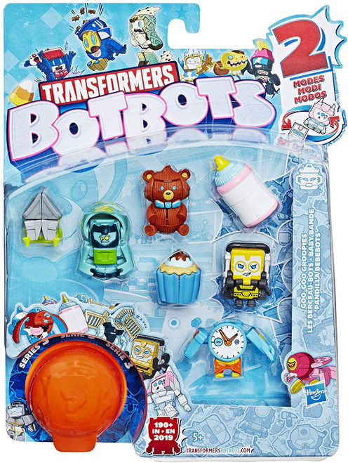 Transformers BotBots Series 3 Goo Goo Groopies Mini Figure 8-Pack [RANDOM Figures]