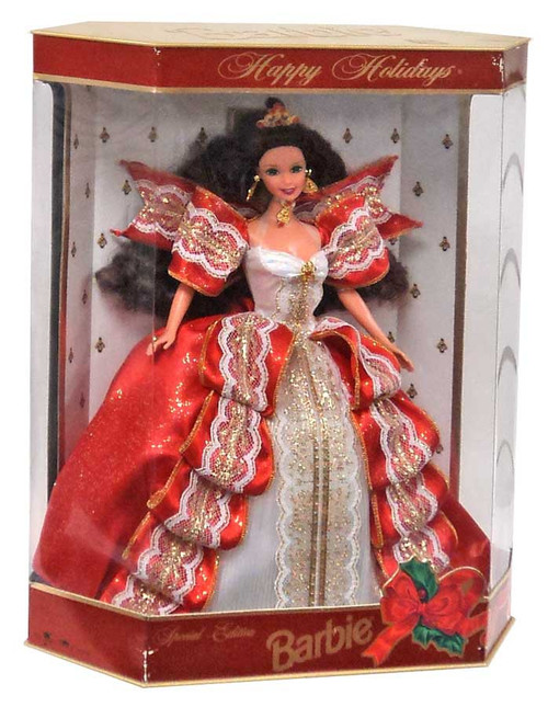 Happy Holidays Barbie Doll [10th Anniversary]