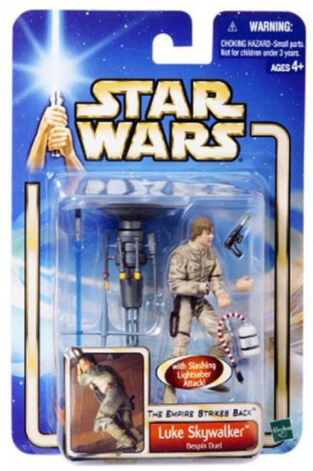 Star Wars The Empire Strikes Back Basic 2002 Collection 1 Luke Skywalker Action Figure [Bespin Duel]