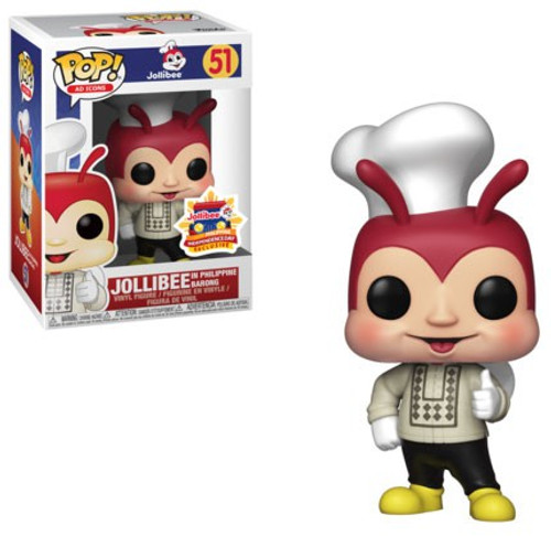 Funko POP! Ad Icons Jollibee Exclusive Vinyl Figure #51 [Damaged Package]