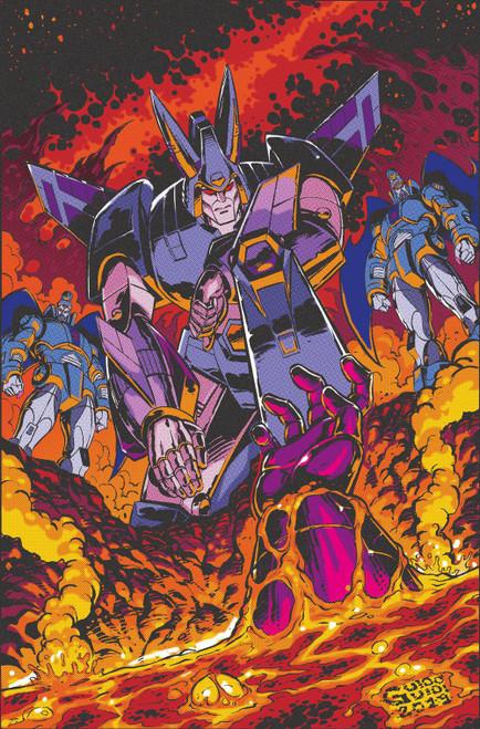 IDW Transformers #9 Comic Book [Guido Guidi Variant Cover]
