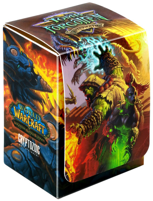 World of Warcraft Card Supplies Tomb of the Forgotten Deck Box