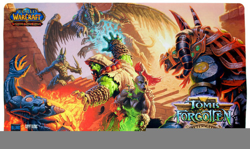 World of Warcraft Card Supplies Tomb of the Forgotten Play Mat
