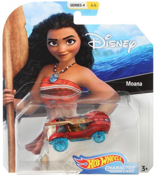Disney Hot Wheels Character Cars Series 4 Moana Die Cast Car #6/6
