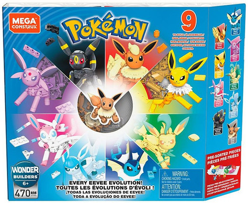 Pokemon Every Eevee Evolution Set