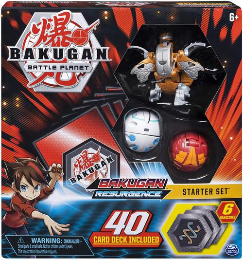 Bakugan Battle Planet Resurgence Aurelus Nobilious Starter Set