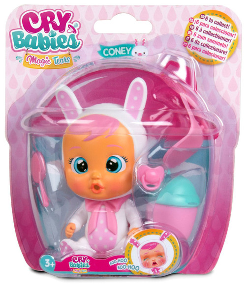 Cry Babies Magic Tears Coney Mini Doll [Damaged Package]