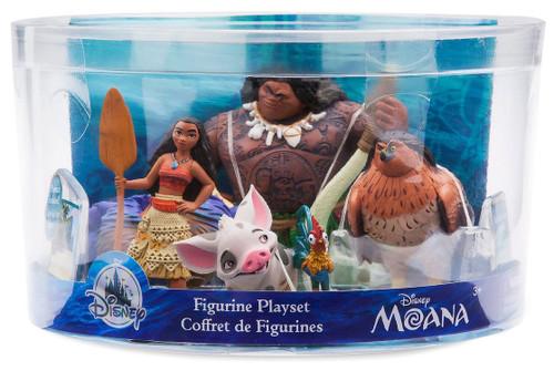 Disney Moana Moana Exclusive 5-Piece PVC Figure Play Set