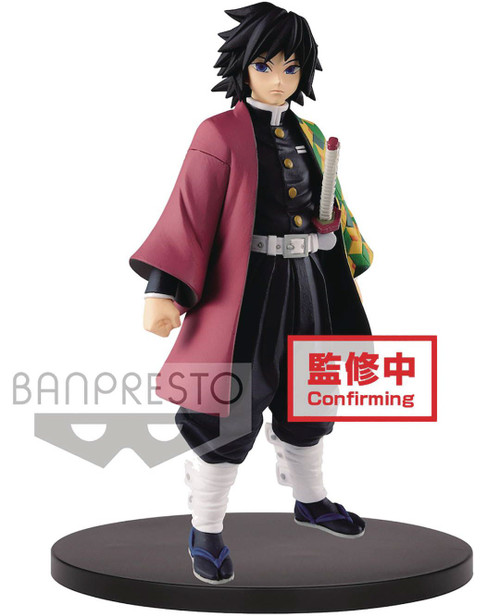 Demon Slayer: Kimetsu no Yaiba Giyu Tomioka 6.3-Inch Collectible PVC Figure