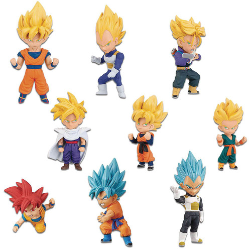 WCF Dragon Ball Legends 2.5-Inch Box of 12 PVC Figures