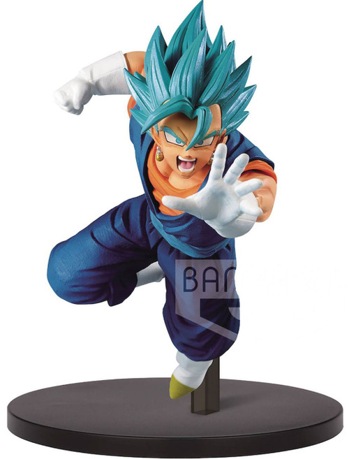Dragon Ball Z: Buyu Retsuden Chosenshiretsuden Super Saiyan Blue Vegito 6.7-Inch Collectible PVC Figure Vol. 5