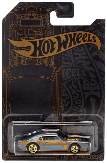 Hot Wheels Satin & Chrome Custom '67 Pontiac Firebird Diecast Car #3/6