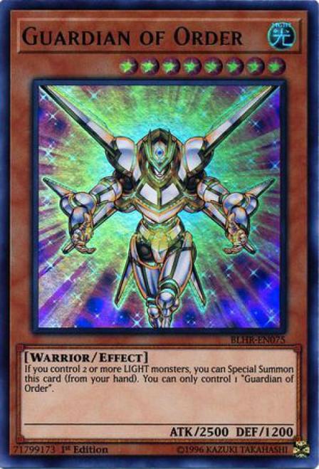 YuGiOh Battles of Legend: Hero's Revenge Ultra Rare Guardian of Order BLHR-EN075