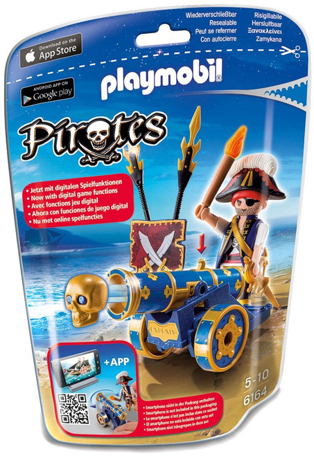 Playmobil Pirates Interactive Cannon with Pirate Set #6164