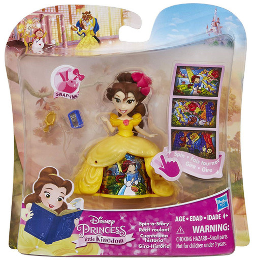 Disney Princess Beauty and the Beast Little Kingdom Spin-a-Story Belle Figure